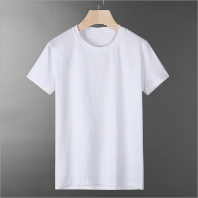 纯色纯白色男士短袖T恤正品团购跨境男士上衣夏季休闲T恤衫韩版