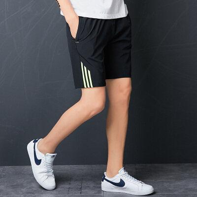 短裤运动速干男夏天五分裤跑步健身户外裤子休闲裤5分夏日薄款潮