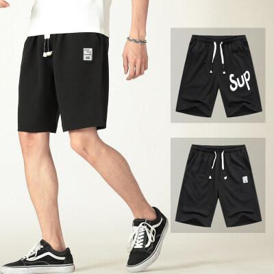青少年夏季休闲宽松运动短裤男士五分裤