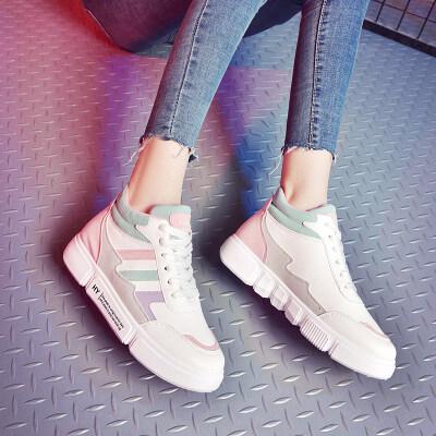 【2019新款-A223-视频】网红中邦板鞋学生韩版-特价34