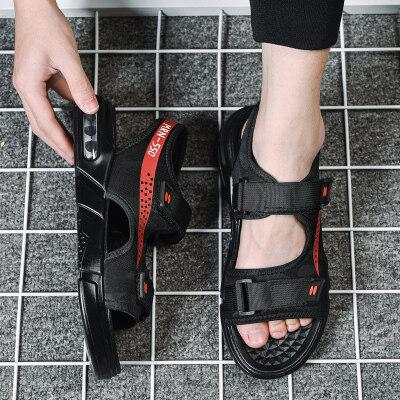 满足【T38】沙滩鞋吹气底气垫凉鞋39-44批38