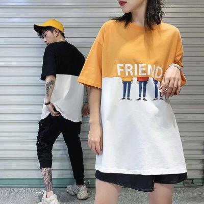 2019新款潮牌情侣款T恤短袖