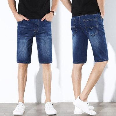 009-2款牛仔商务短裤(蓝色28-38尺码)