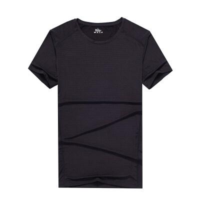 男士冰丝短袖T恤2019新款潮牌圆领半袖潮流夏季体桖夏装修身