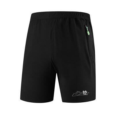运动短裤男休闲女夏季速干跑步训练健身中裤篮球宽松球裤五分裤潮