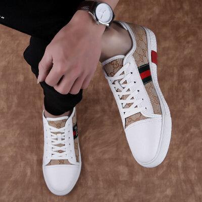真皮运动鞋休闲鞋小白鞋休鞋鞋潮鞋鞋子男鞋