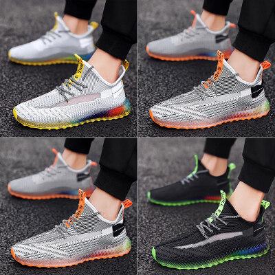 夏季运动休闲鞋男潮鞋4D打印飞织鞋LK22299
