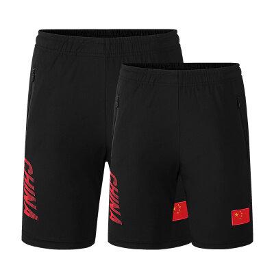 夏季男士纯棉短裤新款休闲松紧高腰沙滩裤薄款透气宽松直筒五分裤