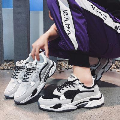 满足【8886】韩版鞋透气老爹鞋网鞋运动鞋39-44批48