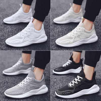 梅西同款飞织鞋男鞋网布鞋透气运动鞋潮鞋夏季 LK12911