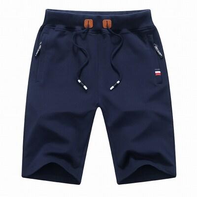 档口现货短裤纯棉纯色搭配短袖运动裤搭配套装工装跨境95棉莆