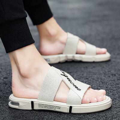 拖鞋男士2019新款夏季室外沙滩凉鞋男鞋户外韩版潮流个性外穿
