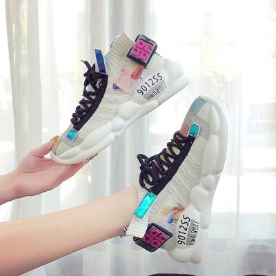 新款夏季运动鞋潮鞋夏款小白鞋女鞋子透气百搭休闲ins