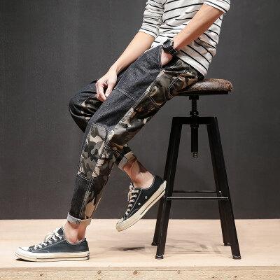 马切达-四   K18422-P50 95%棉5%聚酯纤维 新款大码休闲裤男