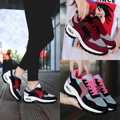 夏季透气新款增高气垫妈妈鞋中老年人休闲运动跳舞鞋