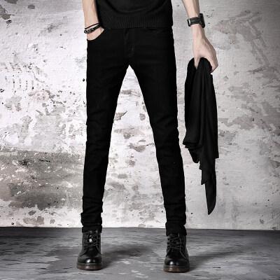 8011 #主推款黑色小脚裤