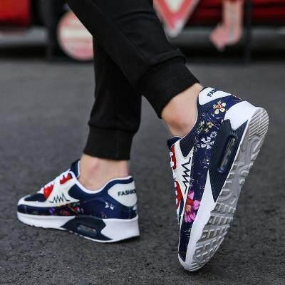 男士2019新款百搭透气男鞋内增高韩版潮鞋气垫运动夏季透气休闲鞋