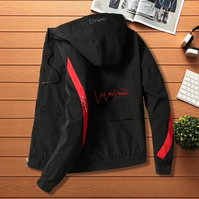 男士冬季外套2020新款春秋休闲修身帅气学生工装839款夹克