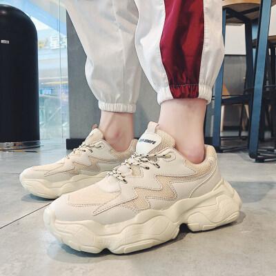 【誉诚鞋业-D59】经典透气老爹鞋