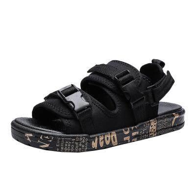夏季凉鞋2019新款室外防滑沙滩鞋休闲韩版个性潮流两用男士凉拖鞋