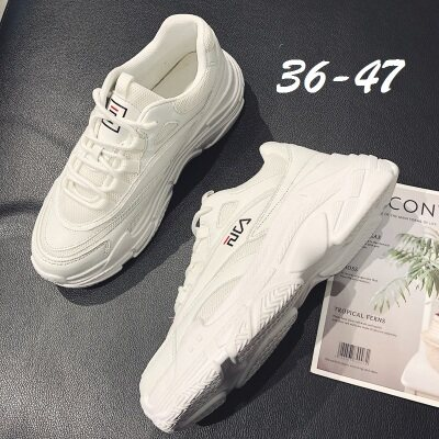 满足【668】新款秋季透气网加厚底老爹鞋时尚潮鞋36-47批