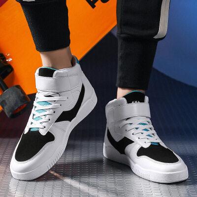 空军一号高帮篮球鞋休闲运动板鞋百搭小白鞋透气潮流运动男鞋