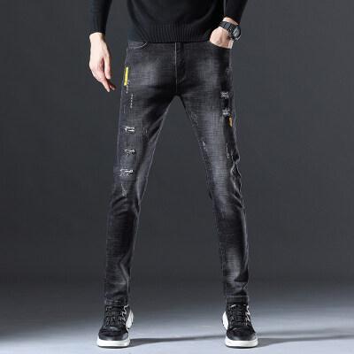 9016时尚靓仔 秋冬新款牛仔长裤(多风格)