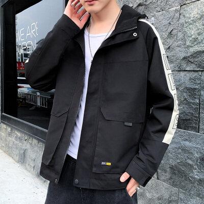 男士外套春秋冬季2019新款韩版潮流帅气百搭学生衣服加绒休闲