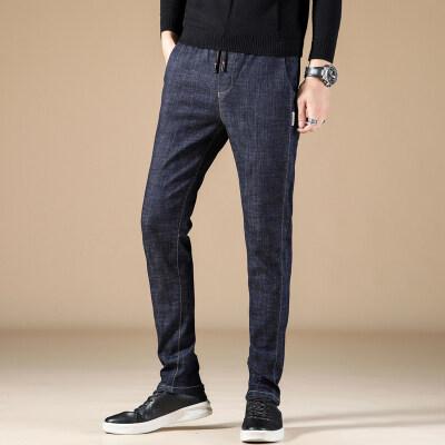 19秋冬新款 时尚靓仔牛仔裤 9326 黑色 蓝色 3套图