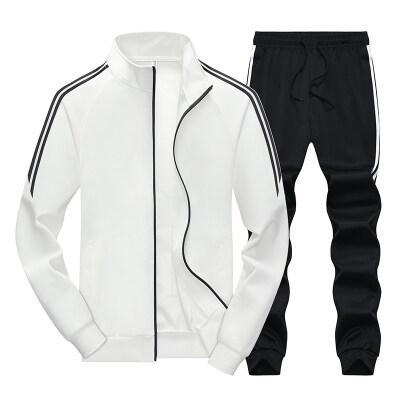 2019运动服套装男时尚休闲套装卫衣跑步运动套装