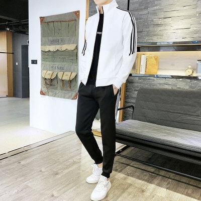2019运动服套装男时尚休闲套装卫衣跑步运动套装105店主风