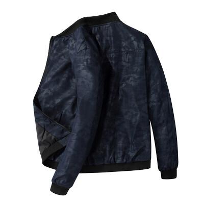 新款夹克男立领秋季款男士外套青年男士夹克飞行领休闲男装夹克衫