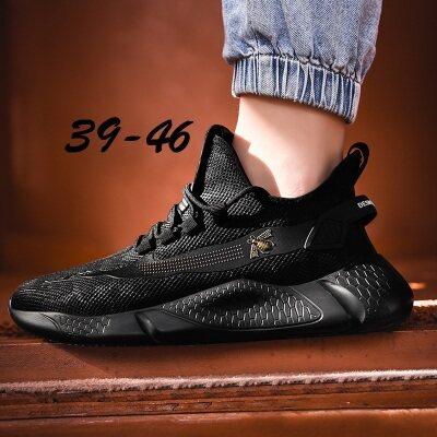 满足【G118】休闲小蜜蜂运动跑步鞋大码跨境男鞋39-46批
