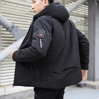 秋冬新款棉衣男韩版时尚短款棉衣袄子青年上衣外套