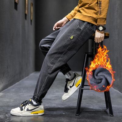 加绒牛仔裤 K802加绒 3色(2套图+视频)常规款K802