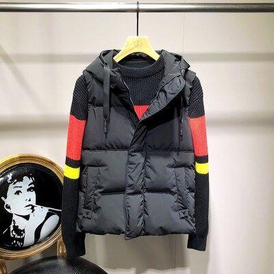 2020秋冬新款棉马甲男季韩版潮流修身帅气青年坎肩保暖外套
