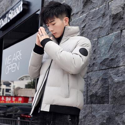 冬季新款男士棉衣外套韩版加厚棉袄棉服短款加绒棉服
