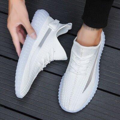 2019新款秋季男鞋韩版潮流夏季小白跑步男士运动鞋子男潮鞋椰子鞋