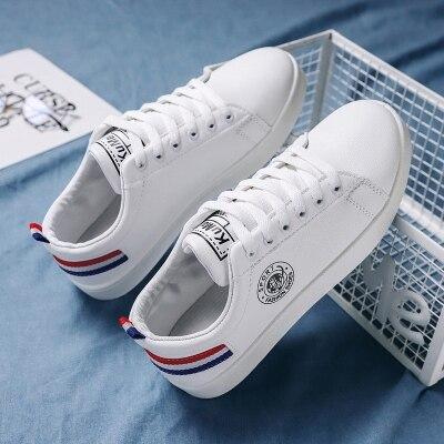 菜鸟@7635 新款小白鞋小清新男鞋百搭板鞋