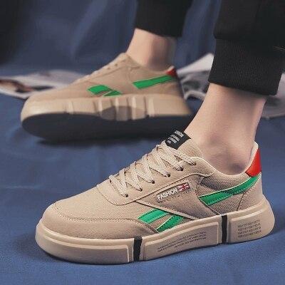 菜鸟@WD885 新款透气板鞋小白鞋学生鞋百搭款