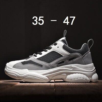 满足【1200】情侣款老爹鞋超轻大码35-47批60(含视频