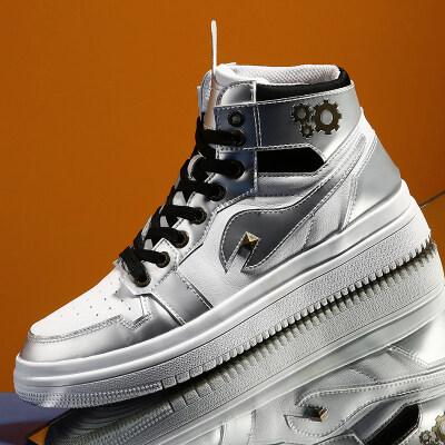 AJ公版高帮板鞋,街头潮鞋