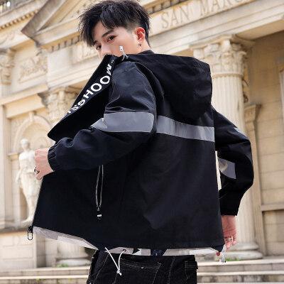 外套男春秋冬季2020新款韩版潮流工装上衣服机能休闲百搭夹克