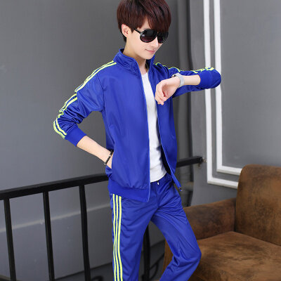男士春秋季运动套装男跑步休闲运动服青少年休闲套装B582 TP45