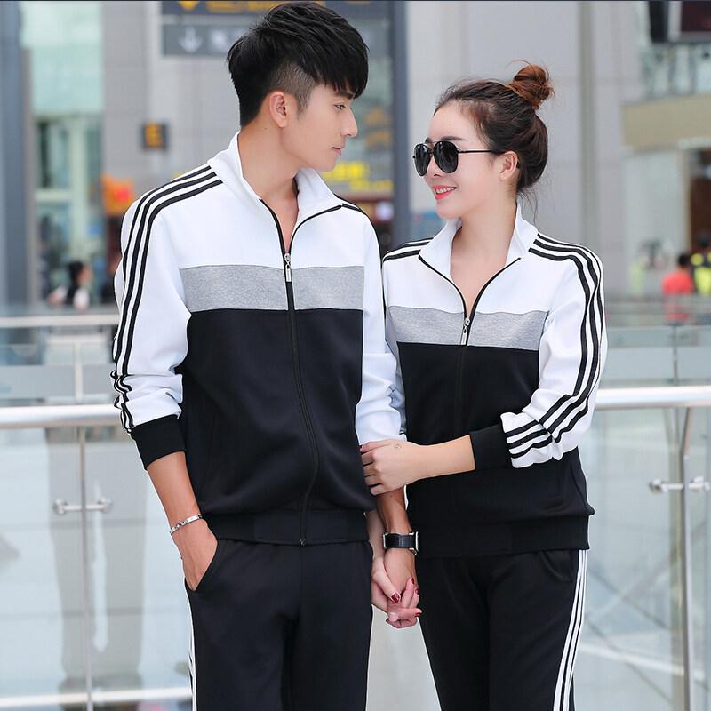 定做春秋季初中学生校服冬季高中班服套装男女大学生运动服两件套