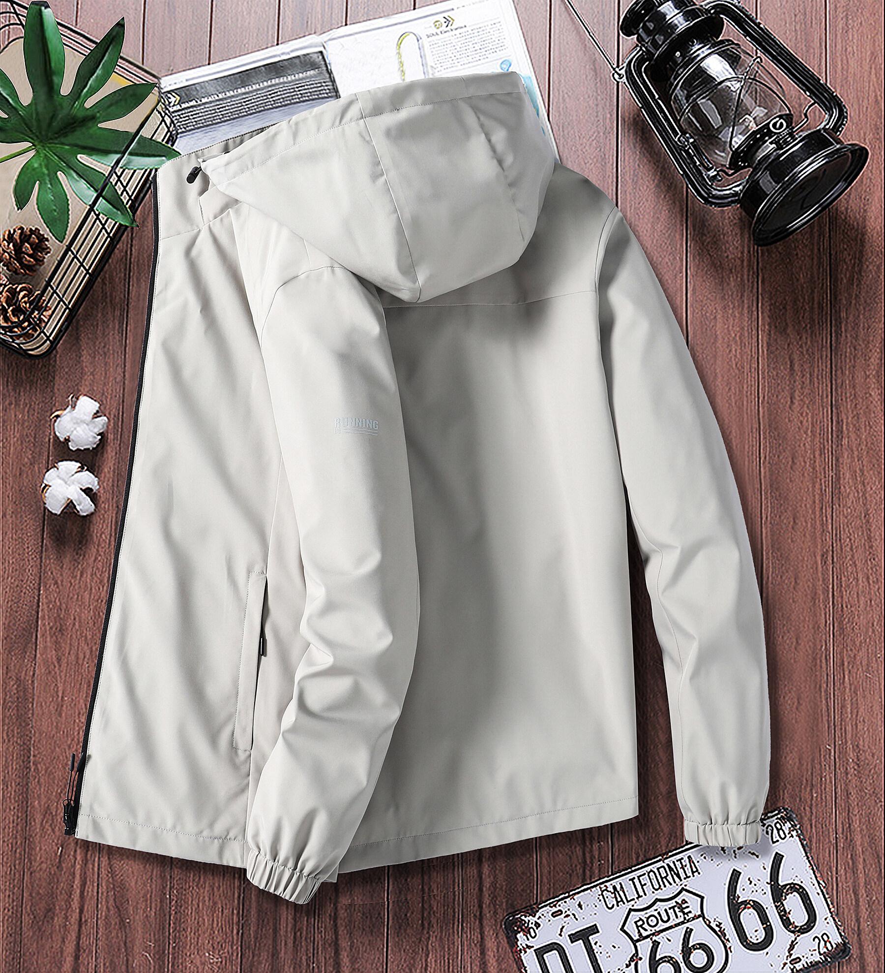 大码加5元男士团购外套2020新款春秋压标休闲公版风衣夹克