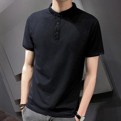 男装夏季polo衫短袖纯色男士上衣班服