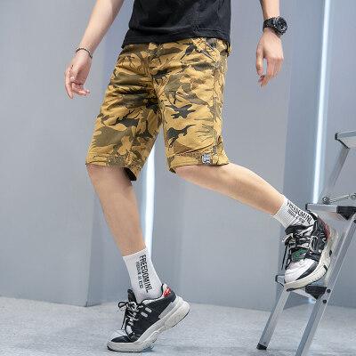 男装休闲裤迷彩短裤夏季工装裤多袋裤