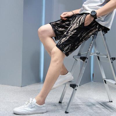 男装休闲裤短裤夏季工装裤多袋裤