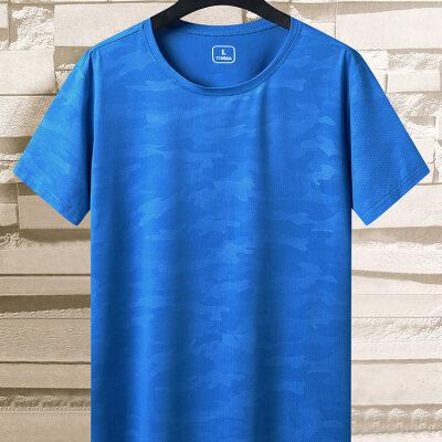2020夏季新款男士情侣速干短袖T恤青年时尚休闲运动跑步健身